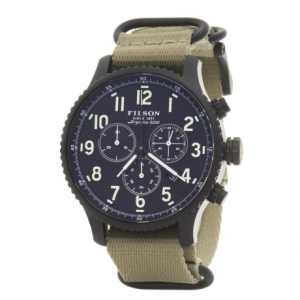 Image of Filson Mackinaw Chronograph Field Watch - 43mm, Nylon Strap (For Men)