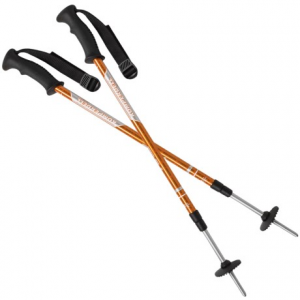 komperdell hiker adjustable trekking poles- Save 49% Off - CLOSEOUTS . The no-nonsense design and the lightweight adjustability of Komperdelland#39;s Hiker trekking poles stabilize your footing on your next day hike or overnight trip. Available Colors: SEE PHOTO.