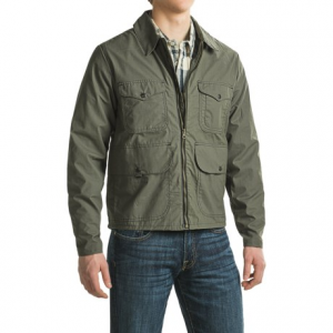 Image of Filson Bell Bomber Jacket - Waxed Cotton (For Men)