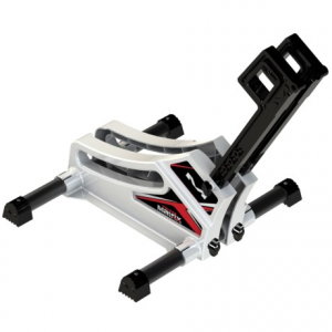 matrix f1 static cycling stand- Save 42% Off - CLOSEOUTS . The Matrix F1 Static cycling stand is a sturdy, easy-to-use floor stand that holds your bike steady by gripping the front or rear wheel. Available Colors: WHITE.