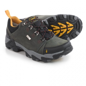 Image of Ahnu Coburn Low Hiking Shoes - Waterproof, Nubuck (For Men)