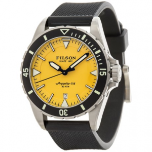 Image of Filson Dutch Harbor Watch - 43mm, Rubber Band (For Men)