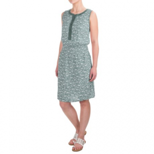 aventura clothing lyric dress - sleeveless (for women)- Save 65% Off - CLOSEOUTS . Go ahead and sing it from the rooftops about how much you love Aventura Clothingand#39;s Lyric dress -- made from a light, woven viscose with a pretty allover print and crochet trim for charming, feminine style. Available Colors: TURQUOISE, DECO ROSE. Sizes: S, M, L, XL.