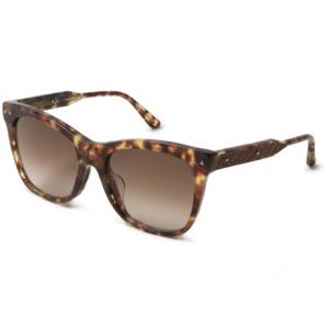 Image of Bottega Veneta Rectangular Sunglasses (For Women)