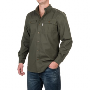Image of Carhartt Foreman Solid Work Shirt - Long Sleeve (For Men)