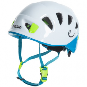 edelrid shield lite climbing helmet- Save 47% Off - CLOSEOUTS . Ascend to the summit in ultralight protection with the Edelrid Shield Lite climbing helmet. The robust, in-mold construction offers an easy-adjust Wing-Fit system, ultralight design and excellent ventilation for both sport climbing and mountaineering. Available Colors: SNOW/ICEMINT. Sizes: S, L, 1, 2.