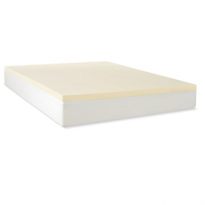 Image of Jeffco Fibres 1.5? Mattress Pad - Queen, Memory Foam