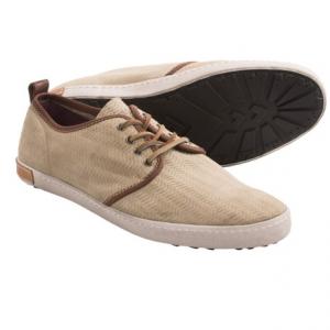 Image of Blackstone DM52 Herringbone Nubuck Sneakers (For Men)