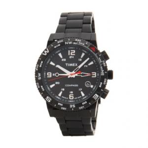 Image of Timex Intelligent Quartz Adventure Series Chronograph Watch - Stainless Steel Bracelet (For Men)