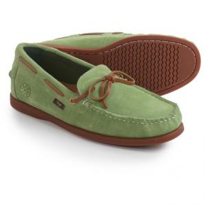 Image of Dije California Ellis Moc Boat Shoes - Suede, Slip-Ons (For Men)