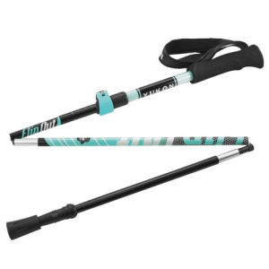 yukon charlie?s flipout trekking poles- Save 42% Off - CLOSEOUTS . Compact and easy-to-stash, Yukon Charlieand#39;s Flipout trekking poles feature a three-section folding design with secure external length adjustment. The 7000 series shaft is durable and lightweight, and the rubber tip boot handle all types of terrain. Available Colors: RED, BLUE.