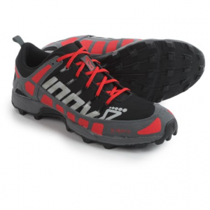 inov-8 x-talon 212 trail running shoes (for men and women)- Save 50% Off - CLOSEOUTS . Inov-8and#39;s X-Talon 212 trail running shoes are flexible, extremely lightweight speed shoes that welcome mixed terrain. The sticky rubber outsole has aggressive 8mm lugs that provide outstanding grip in mud and loose terrain. Available Colors: BLACK/RED/GREY. Sizes: 8, 8.5, 9, 9.5, 10, 10.5, 11, 11.5, 12, 12.5, 13, 14, 13.5.
