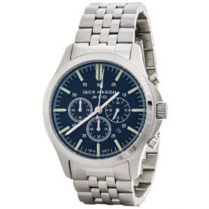 Image of Jack Mason Field Chronograph Watch with Stainless Steel Band - 42mm