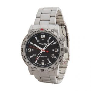 Image of Timex Intelligent Quartz Adventure Series Watch - Stainless Steel Bracelet (For Men)