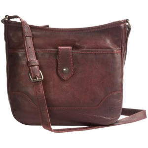 Image of Frye Melissa Button Crossbody Bag - Italian Leather (For Women)