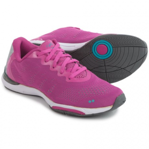 ryka achieve training shoes (for women)- Save 57% Off - CLOSEOUTS . With lots of cushioning, lightweight breathability and a stabilizing design, rykaand#39;s Achieve training shoes provide plenty of comfort and support for each and every step you make toward your fitness goals. Available Colors: PINK/BLUE/SILVER, YELLOW/TEAL/WHITE. Sizes: 5, 5.5, 6, 6.5, 7, 7.5, 8, 8.5, 9, 9.5, 10, 10.5, 11.