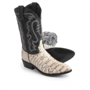 Image of Laredo Water Snake Cowboy Boots - 12?, Point Toe (For Men)