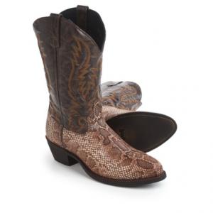Image of Laredo Snake Print Cowboy Boots - 12? (For Men)