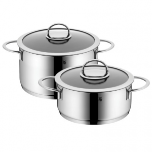 wmf vignola nonstick cookware set - 4-piece- Save 68% Off - Overstock . This WMF Vignola nonstick cookware set features high and low casserole pots with glass lids. Theyand#39;re crafted from beautiful high-polish 18/10 stainless steel with a Silitherm base that evenly distributes heat and maintains consistent temperature. Available Colors: STAINLESS STEEL.