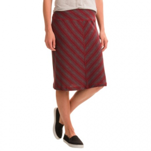 aventura clothing bryce skirt (for women)- Save 49% Off - CLOSEOUTS . A breezy jersey knit fabric blend gives the Aventura Clothing Bryce skirt a flowing feel, and a mitered stripe makes it stand out with everything from a sweater to a tank top. Available Colors: BLACK, BLUE INDIGO, BURNT RUSSET. Sizes: XS, S, M, L, XL, 2XL.