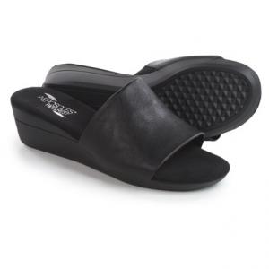 Image of Aerosoles Florida Wedge Sandals - Vegan Leather (For Women)
