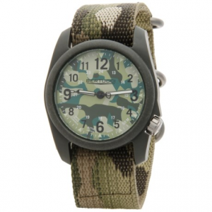Image of Bertucci Commando Camo Analog Watch - 40mm, Nano Nylon Strap