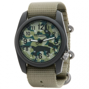Image of Bertucci Commando Camo Analog Watch - 40mm, Nylon Strap