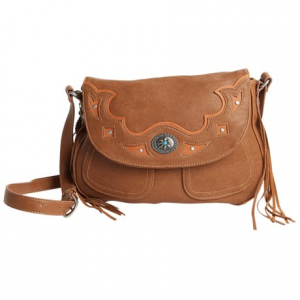 Image of Bandana by American West Lexington Crossbody Flap Bag