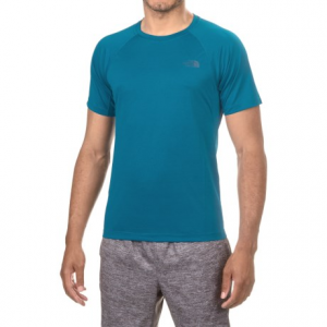 the north face better than naked t-shirt - short sleeve (for men)- Save 40% Off - CLOSEOUTS . Find your zone with little effort in The North Faceand#39;s Better than Naked T-shirt, the ultralight running partner with smooth, stitch-free construction and body-mapped breathable mesh to boost ventilation. Available Colors: BANFF BLUE. Sizes: L, M, S, XL, 2XL.