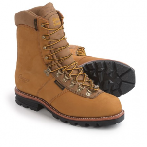 Image of Chippewa Arctic Rugged Leather Work Boots - Waterproof, Insulated, 9? (For Men)