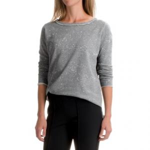 Image of 525 America Boxy Splash Sweatshirt - Cropped Length (For Women)