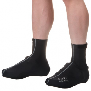 gore bike wear oxygen cycling shoe covers (for men)- Save 50% Off - CLOSEOUTS . Stay warm all the way down to your toes on chilly rides with Gore Bike Wearand#39;s Oxygen cycling shoe covers. Theyand#39;re made with thermo-stretch fabric that fits snugly over your shoes to block wind and small debris, even as they provide light warmth. A full zip at the back offers easy on-off, and the touch-fasten strap at the cuff ensures a custom, comfortable fit. Available Colors: WHITE, BLACK. Sizes: S, M, L, XL.