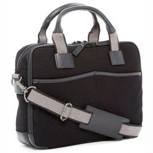 Image of Jack Georges Canvas Top Zip Briefcase