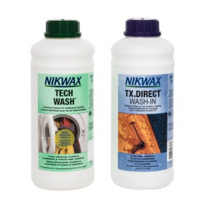 Image of Nikwax XL Hard Shell Outerwear Cleaner and Waterproofing Duo Pack - 34 fl.oz. Each