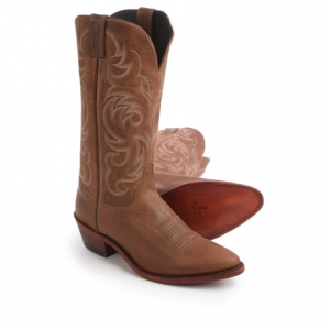 Image of Justin Boots Tyler Cowhide Cowboy Boots - 13?, J-Toe (For Men)