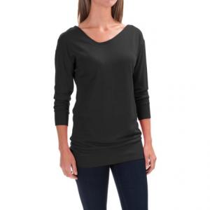 Image of Black Diamond Equipment Fine Jade Tunic Shirt - Merino Wool-Modal, Long Sleeve (For Women)