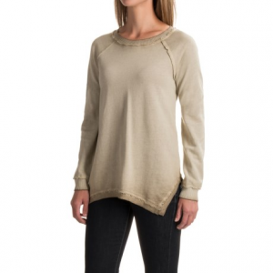 Image of 525 America Spray-Dyed Sweatshirt - Handkerchief Hem (For Women)