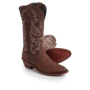 Image of Justin Boots Indian Chief Badland Cowboy Boots - 13?, J-Toe (For Men)