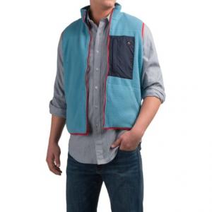 Image of Southern Proper All-Prep Fleece Vest - Zip Front (For Men)