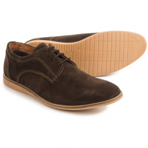 Image of Hawke and Co Jeffrey Oxford Shoes - Suede (For Men)