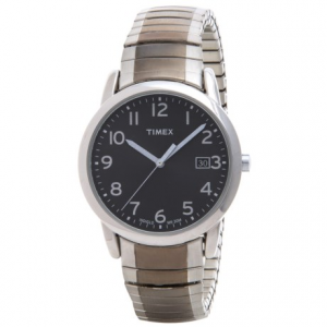 Image of Timex Style Elevated Classic Expansions Watch - 35mm, Stainless Steel Bracelet (For Men)