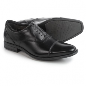 Image of Hush Puppies Evan Maddow Oxford Shoes - Leather, Cap Toe (For Men)