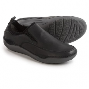 Image of Hush Puppies Crofton Method Shoes - Leather, Slip-Ons (For Men)