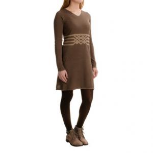 Image of Aventura Clothing Jaelyn Dress - Organic Cotton, Long Sleeve (For Women)