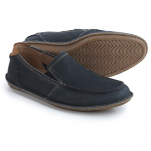 Image of Hush Puppies Asil Roll Flex Loafers - Leather (For Men)