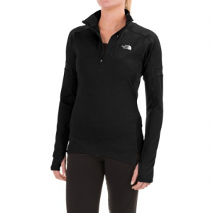 the north face impulse active shirt - zip neck, long sleeve (for women)- Save 42% Off - CLOSEOUTS . Act on your impulse and attack those extra miles in The North Faceand#39;s Impulse Active shirt. Itand#39;s made from stretchy, moisture-wicking and fast-drying fabric to keep you cool and dry; integrated mesh knit panels allow for enhanced breathability and ventilation where you need it most. Available Colors: TNF MEDIUM GREY HEATHER/TNF BLACK, BALSAM GREEN/DARKEST SPRUCE, BIKING RED/DEEP GARNET RED, NOSTALGIA ROSE/RENAISSANCE ROSE, SUBTLE GREEN/BALSAM GREEN, TNF BLACK. Sizes: L, M, S, XL, XS.