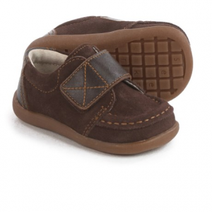 Image of See Kai Run Walter Moc-Toe Shoes - Suede (For Toddlers and Little Boys)