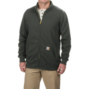 Image of Carhartt Haughton Midweight Sweatshirt - Full Zip, Factory Seconds (For Big and Tall Men)