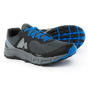 merrell agility charge flex trail running shoes (for men)- Save 45% Off - CLOSEOUTS . Merrelland#39;s Agility Charge Flex trail running shoes feature a FLEXconnectand#174; midsole with dual-directional flex grooves to help you excel on fast and moderate terrain. The sticky, skeleton-like lugs on the M Select GRIP outsole promise durable, slip-resistant traction and stability in both wet and dry conditions on mixed terrain. Available Colors: BOSSA NOVA. Sizes: 7, 7.5, 8, 8.5, 9, 9.5, 10, 10.5, 11, 11.5, 12, 13, 14, 15.