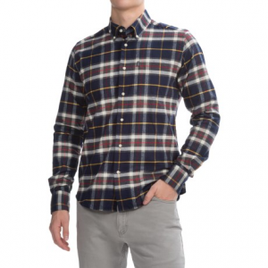 Image of Barbour Castlebay Shirt - Tailored Fit, Long Sleeve (For Men)